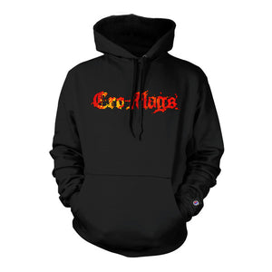 PRE-ORDER: CRO-MAGS 'Fire' Hooded Sweatshirt (Champion)