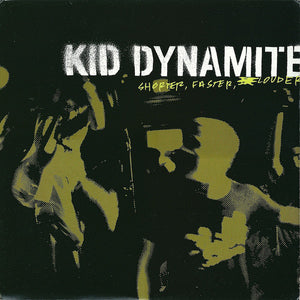 KID DYNAMITE 'Shorter, Faster, Louder' LP / COLORED & LIMITED EDITION / USA IMPORT