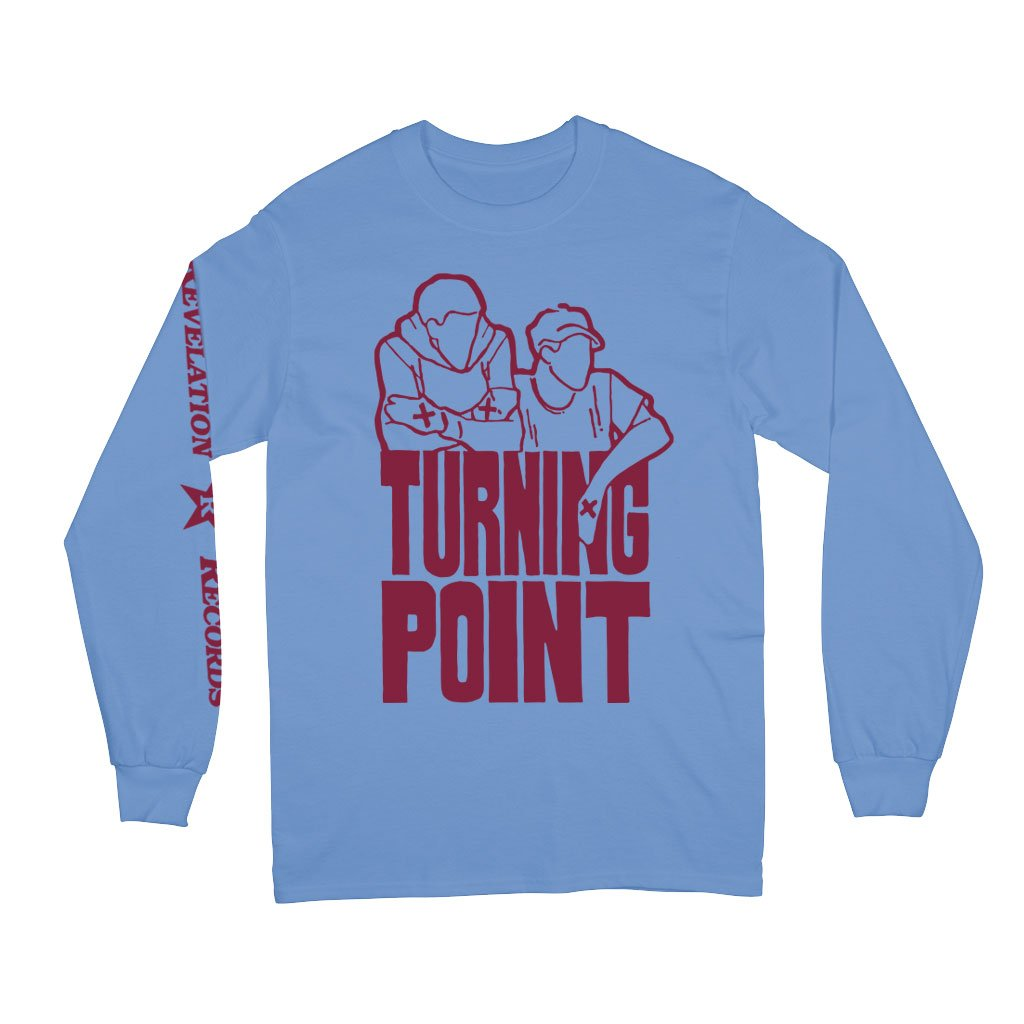 PRE-ORDER: TURNING POINT 'DEMO' Longsleeve  / LIGHT BLUE