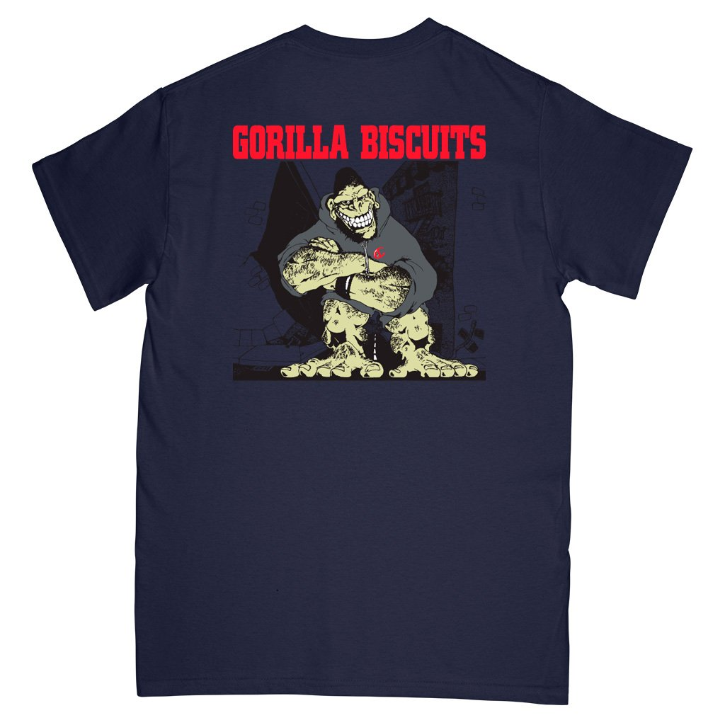 GORILLA BISCUITS 'Hold Your Ground' T-Shirt