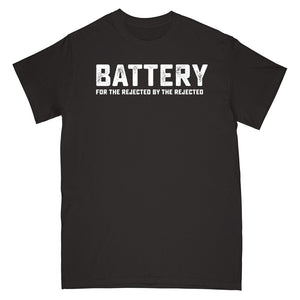 BATTERY 'For The Rejected By The Rejected' T-Shirt