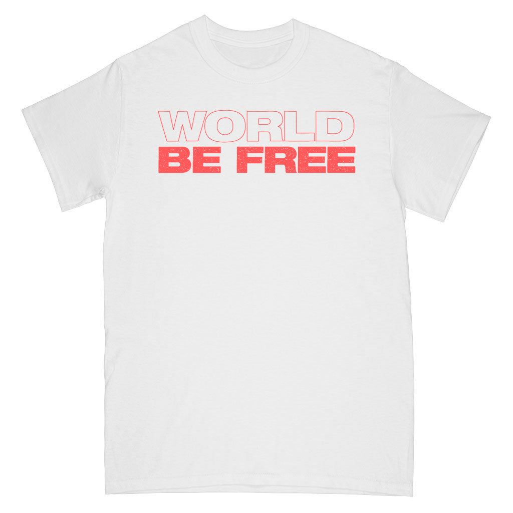 PRE-ORDER: WORLD BE FREE 'One Time For Unity' T-Shirt / White