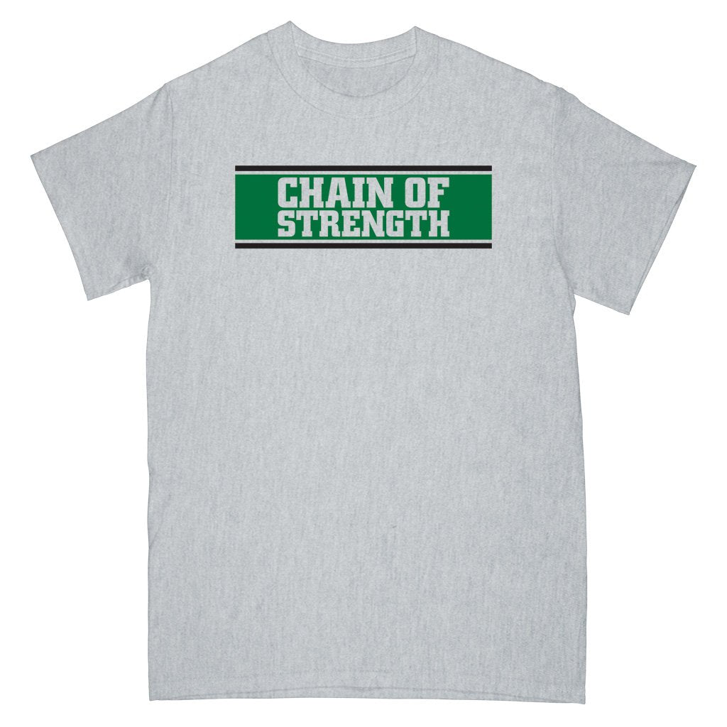 CHAIN OF STRENGTH 'The One Thing That Still Holds True' T-Shirt / GREY