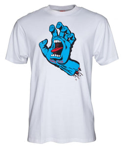 SANTA CRUZ 'Screaming Hand' T-Shirt, white