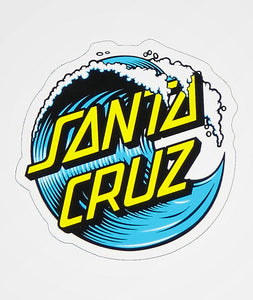 SANTA CRUZ 'Wave' - Sticker
