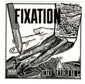 FIXATION 'Into the Pain' Sticker
