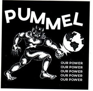 PUMMEL 'Our Power' Sticker