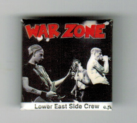 "WARZONE 1"" Square Button"