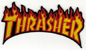THRASHER 'Flames' Patch