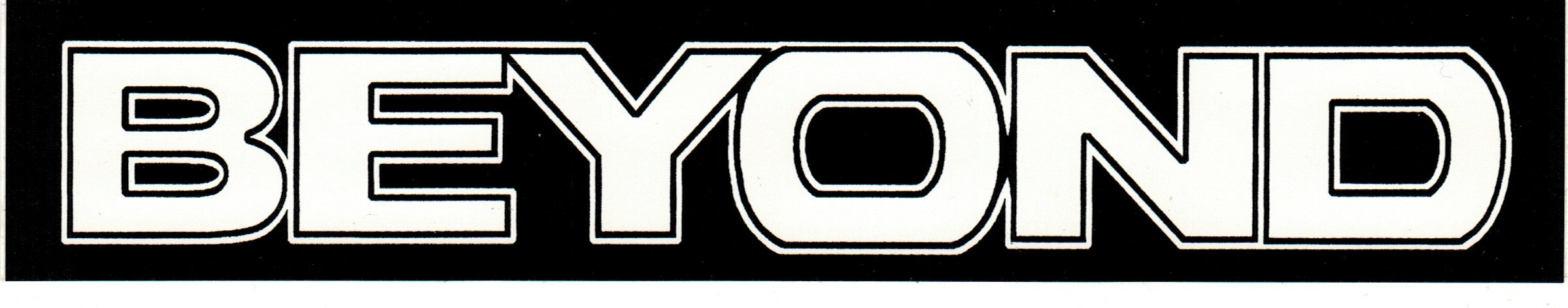 BEYOND 'Logo' Sticker