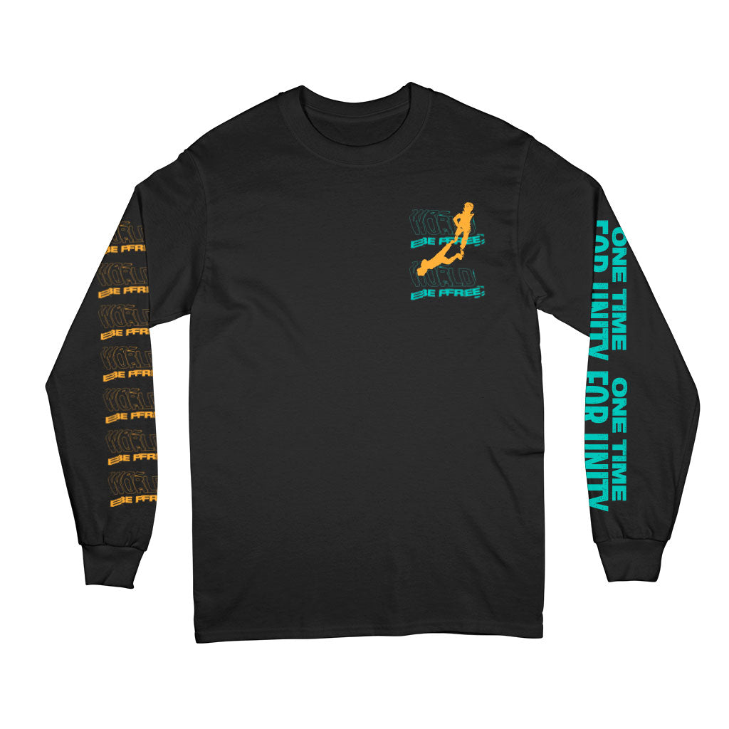 PRE-ORDER: WORLD BE FREE 'One Time For Unity' Longsleeve