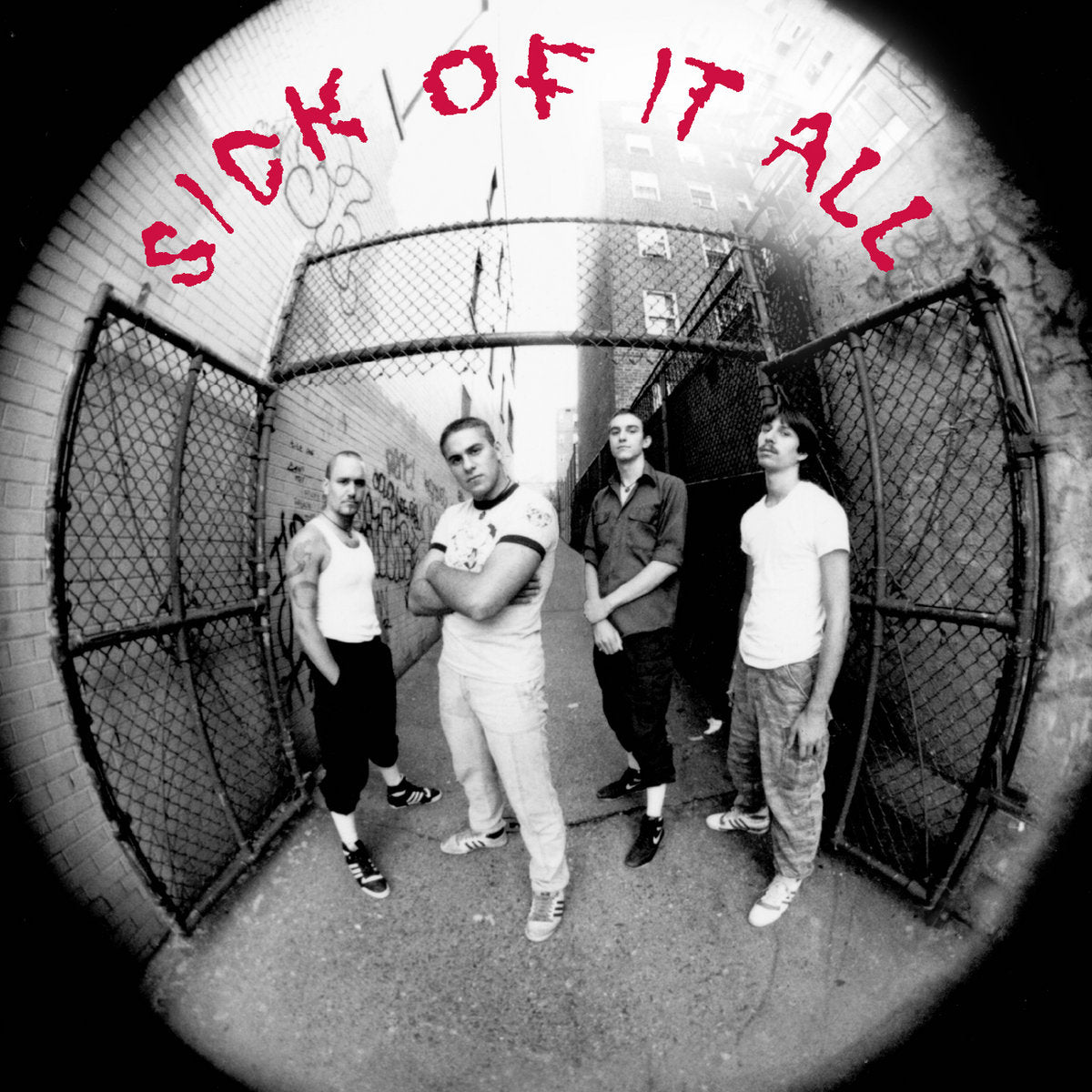 "SICK OF IT ALL 's/t' 7"" / BLUE EDITION"
