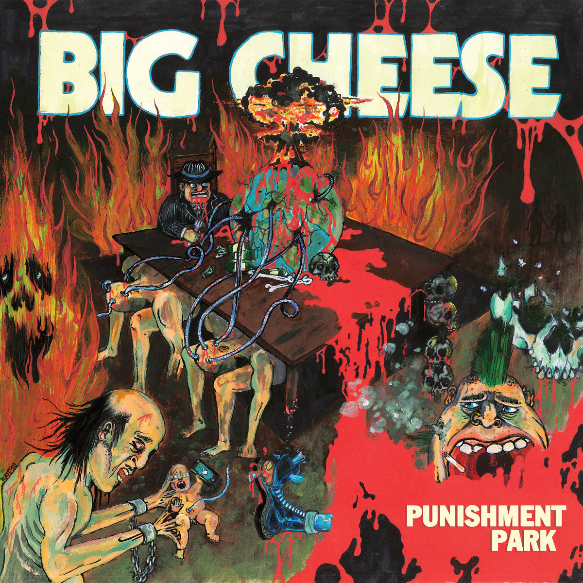 BIG CHEESE 'Punishment Park' LP / RED EDITION
