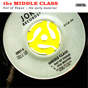THE MIDDLE CLASS 'Out Of Vogue - The Early Material' LP / COLORED EDITION