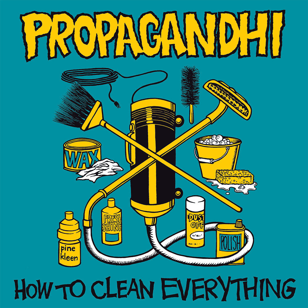 PROPAGANDHI 'How To Clean Everything' LP / 20TH ANNIVERSARY REISSUE