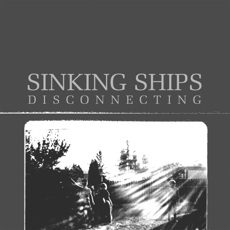 SINKING SHIPS 'Disconnecting' LP / COLORED EDITION