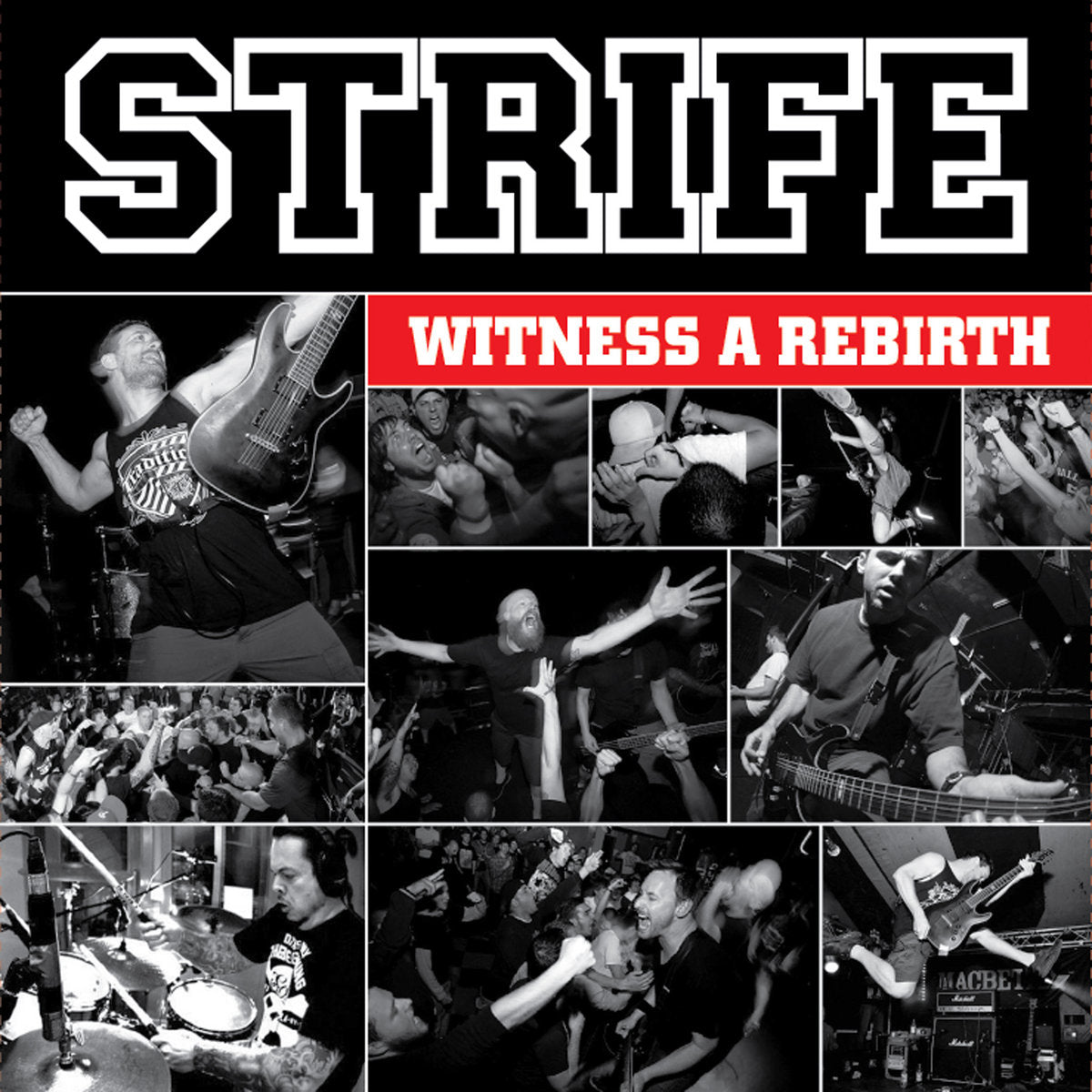 STRIFE 'Witness A Rebirth' LP / CLEAR EDITION