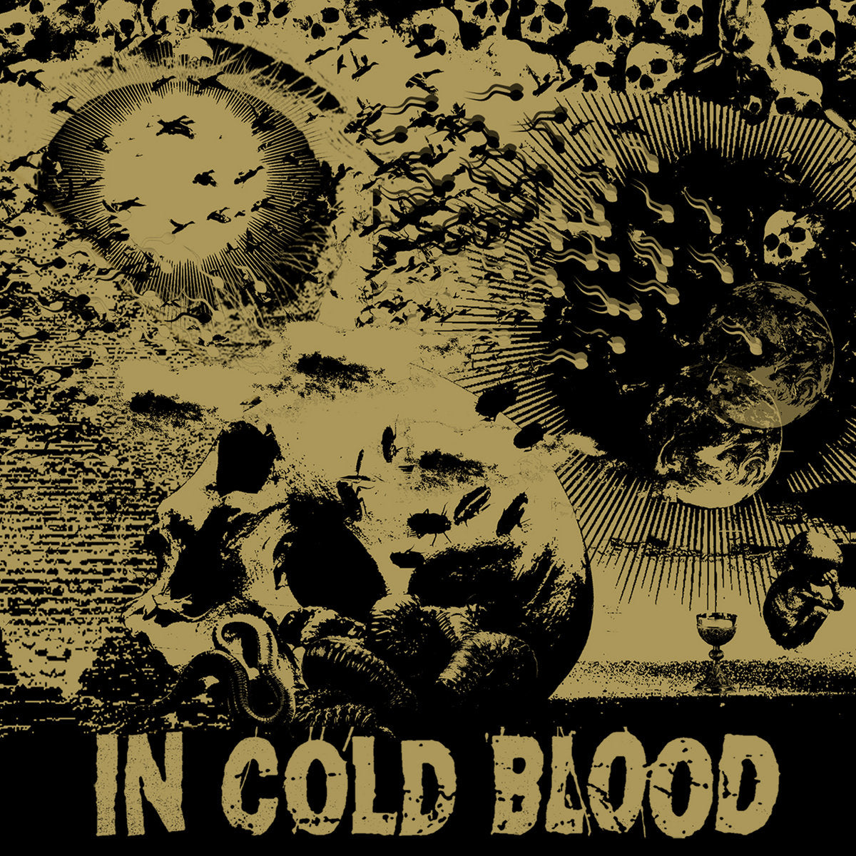 "IN COLD BLOOD 'Blind The Eyes' 7"" / COLORED EDITIONS"