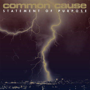 COMMON CAUSE 'Statement Of Purpose' LP / COLORED & BLACK EDITION