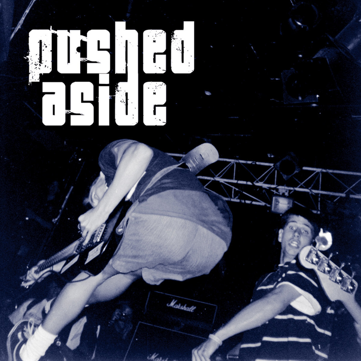 "PUSHED ASIDE 's/t' 7"" / COLORED EDITION"