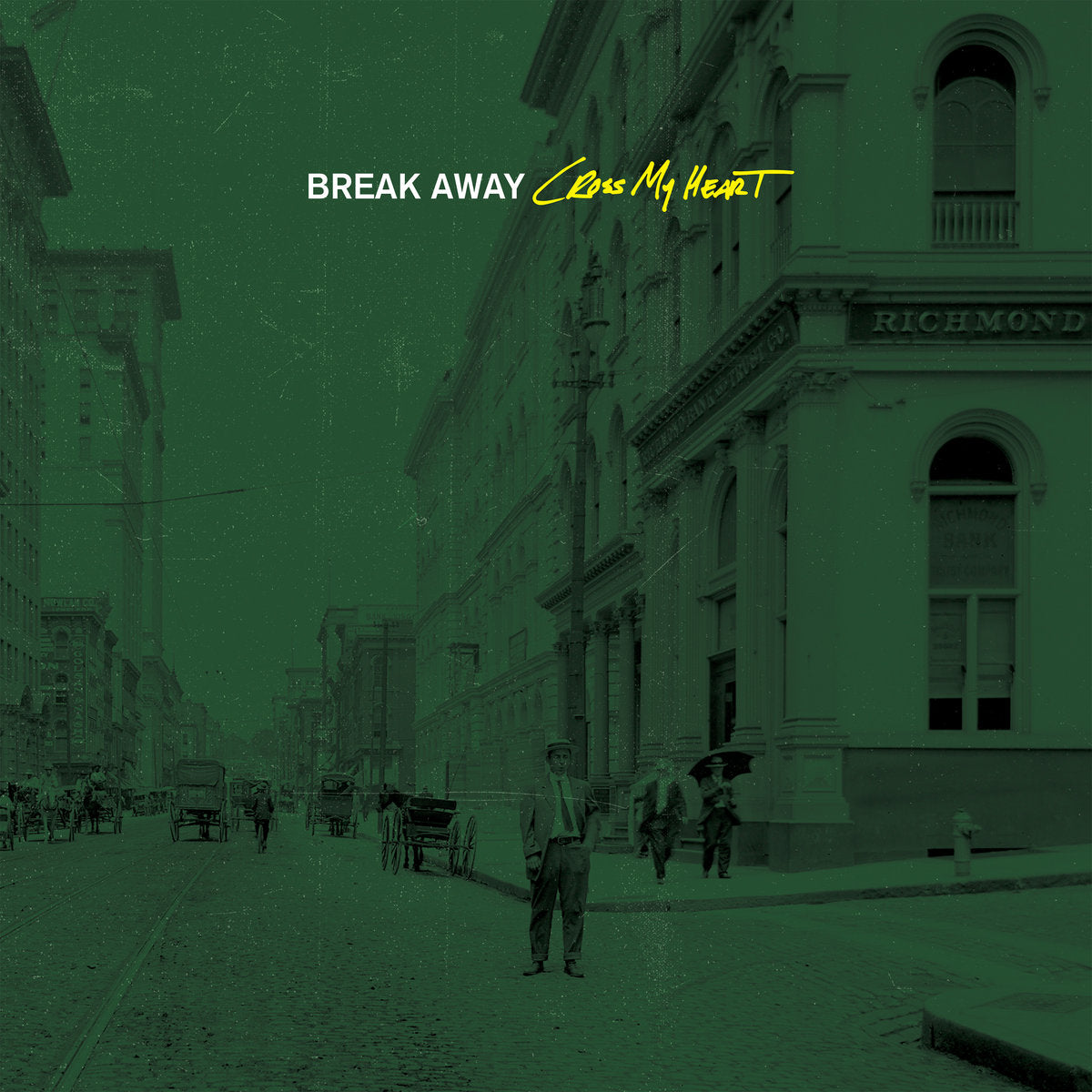 BREAK AWAY 'Cross My Heart' LP