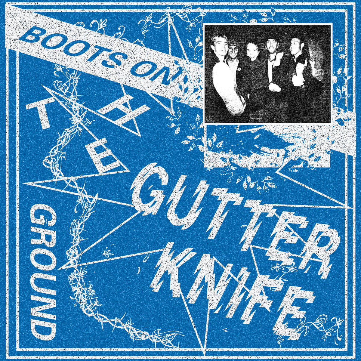 GUTTER KNIFE 'Boots On The Ground' 12""