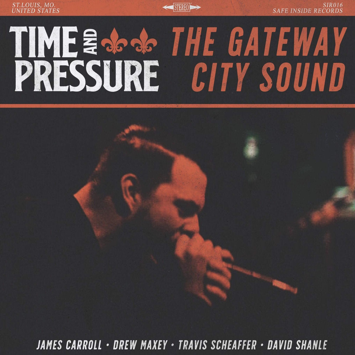TIME AND PRESSURE 'The Gateway City Sound' LP
