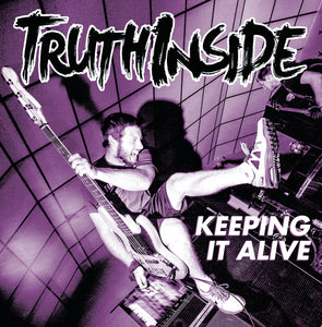 TRUTH INSIDE 'Keeping It Alive' LP / YELLOW & RED SPLATTER