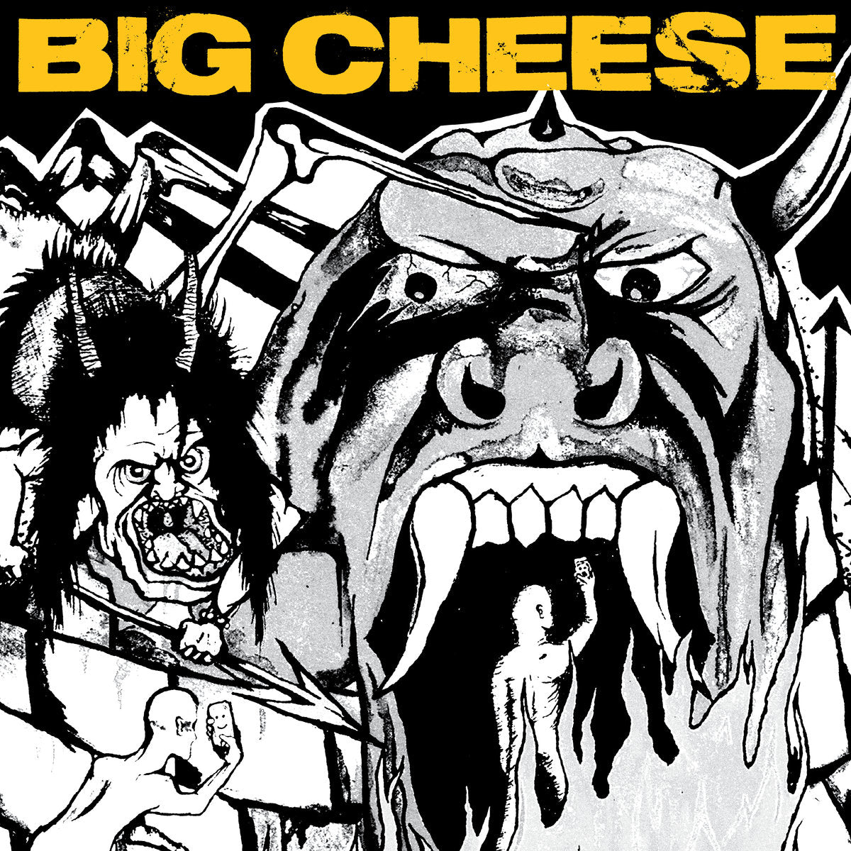 BIG CHEESE 'Dont Forget To Tell The World' LP