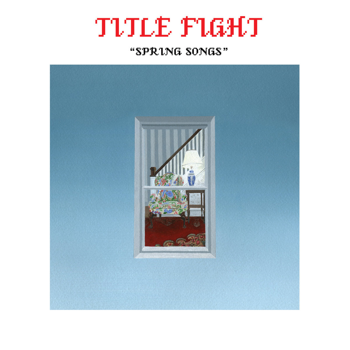 "TITLE FIGHT 'Spring Songs' 7"" / RED EDITION"