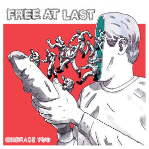 FREE AT LAST 'Embrace You' LP / BLUE & WHITE EDITION