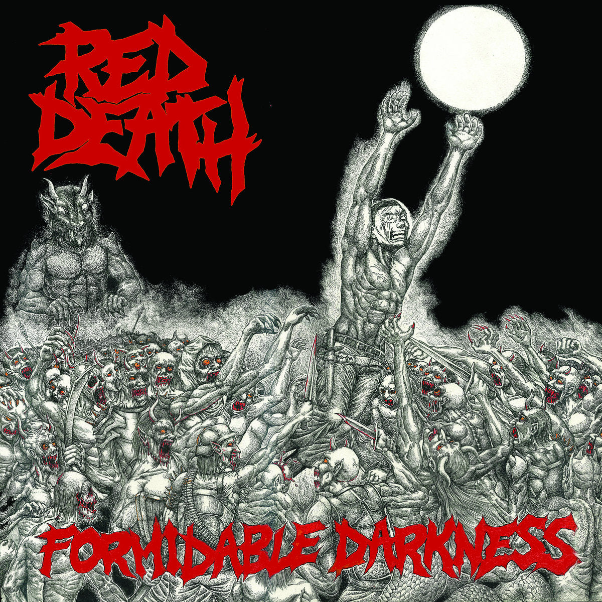 RED DEATH 'Formidable Darkness' LP