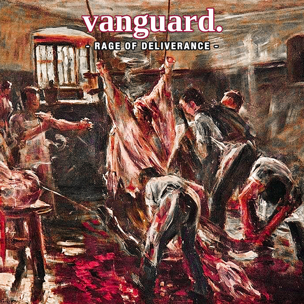 PRE-ORDER: VANGUARD 'Rage Of Deliverance' LP / CLEAR WITH RED LIMITED EDITION!