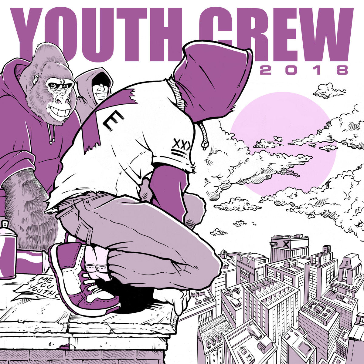YOUTH CREW Compilation 2018 7""