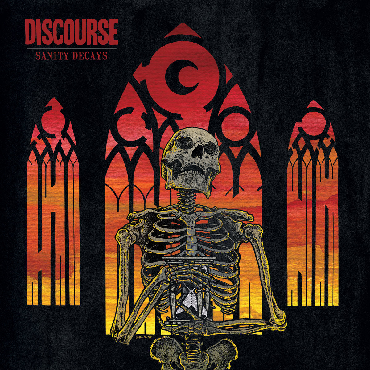 DISCOURSE 'Sanity Decays' LP / COLORED EDITION