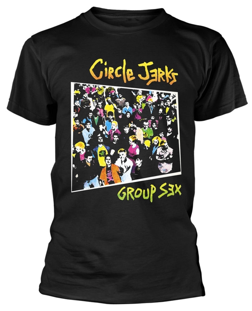 CIRCLE JERKS 'Group Sex' T-Shirt