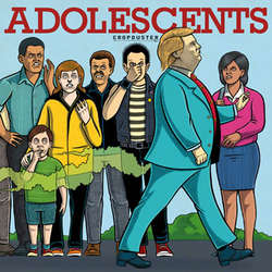 ADOLESCENTS 'Cropduster' LP