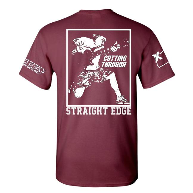 PRE-ORDER: NEW AGE RECORDS X CUTTING THROUGH 'STRAIGHT EDGE' T-Shirt