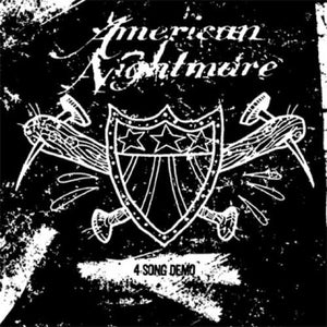 "AMERICAN NIGHTMARE '4 Song Demo' 7"" / OLIVE GREEN MARBLE EDITION"