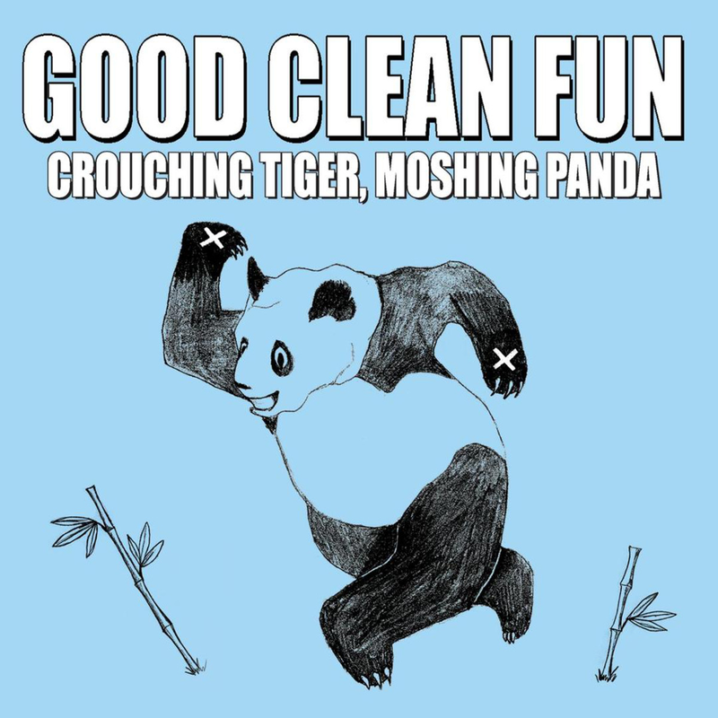 PRE-ORDER: GOOD CLEAN FUN 'Crouching Tiger, Moshing Panda' LP / BABY BLUE EDITION