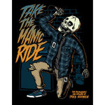 F. HAMMER: 'TAKE THE MANIC RIDE' Book