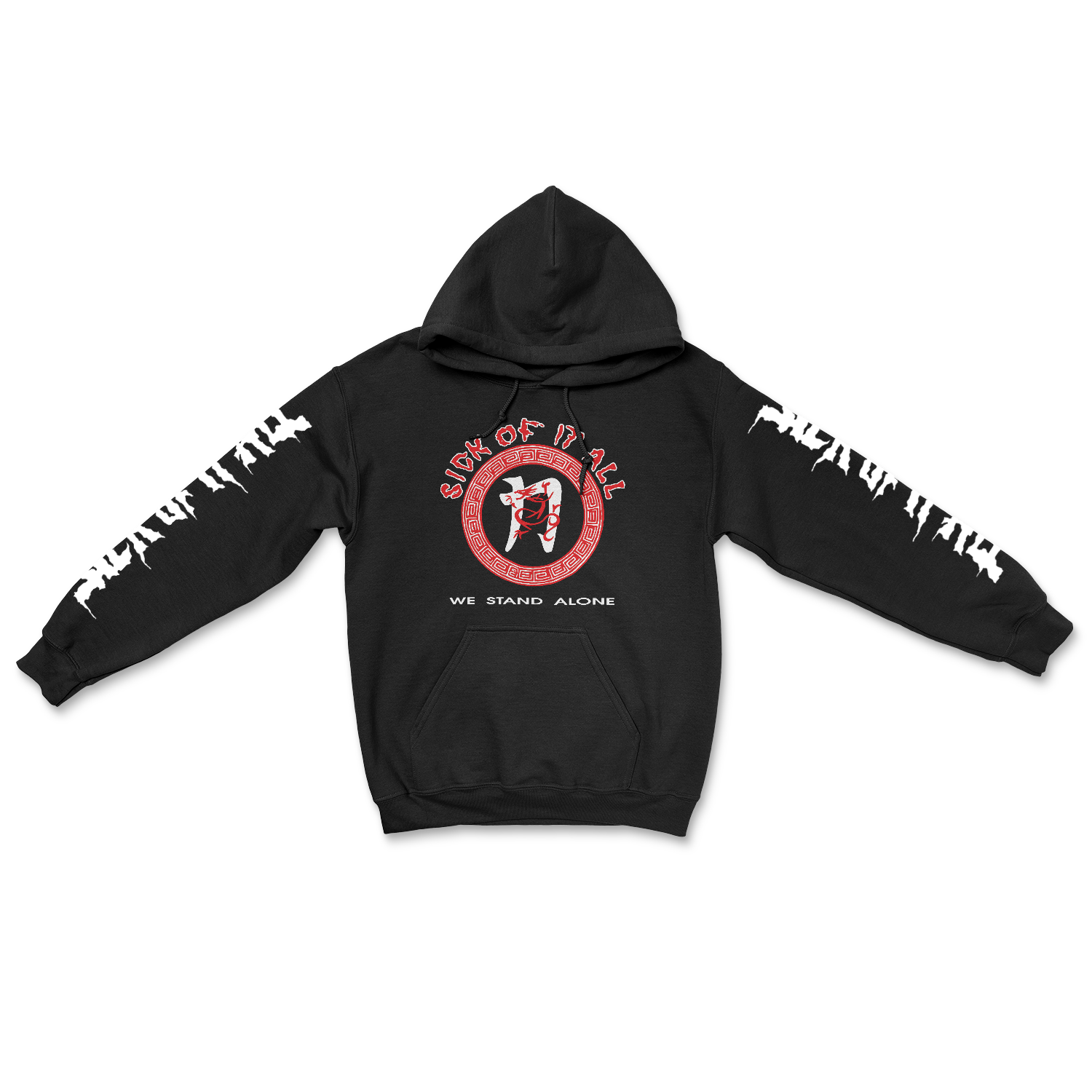 SICK OF IT ALL 'We Stand Alone' Hoodie Sweatshirt
