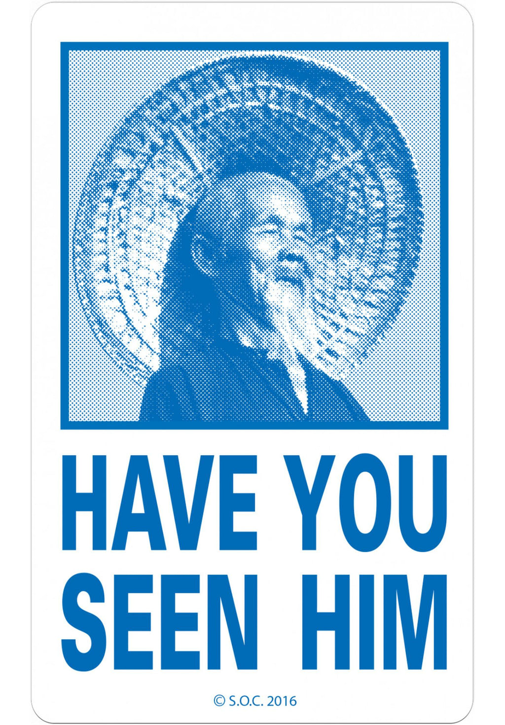 POWELL-PERALTA 'Have You Seen Him' Sticker