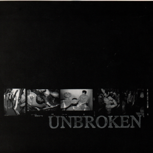 UNBROKEN 'And b/w Fall On Proverb' 7""