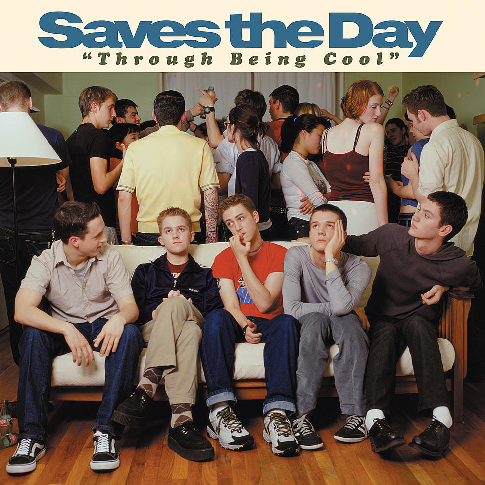 SAVES THE DAY 'Through Being Cool' 2xLP / 20TH ANNIVERSARY DOUBLE LP EDITION!