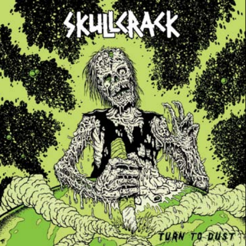 SKULLCRACK 'Turn to Dust' LP