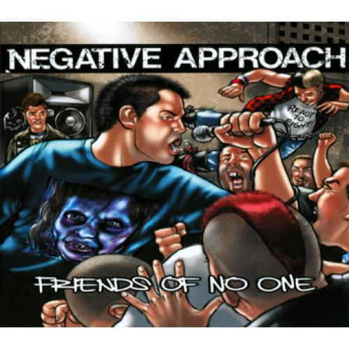 NEGATIVE APPROACH 'Friends Of No One' 7""