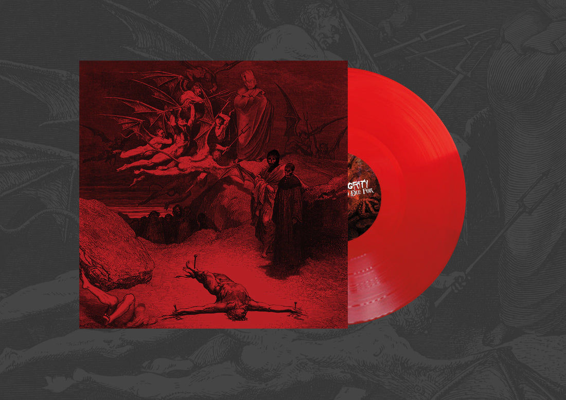 INTEGRITY 'To Die For' LP / TRANSPARENT RED EDITION