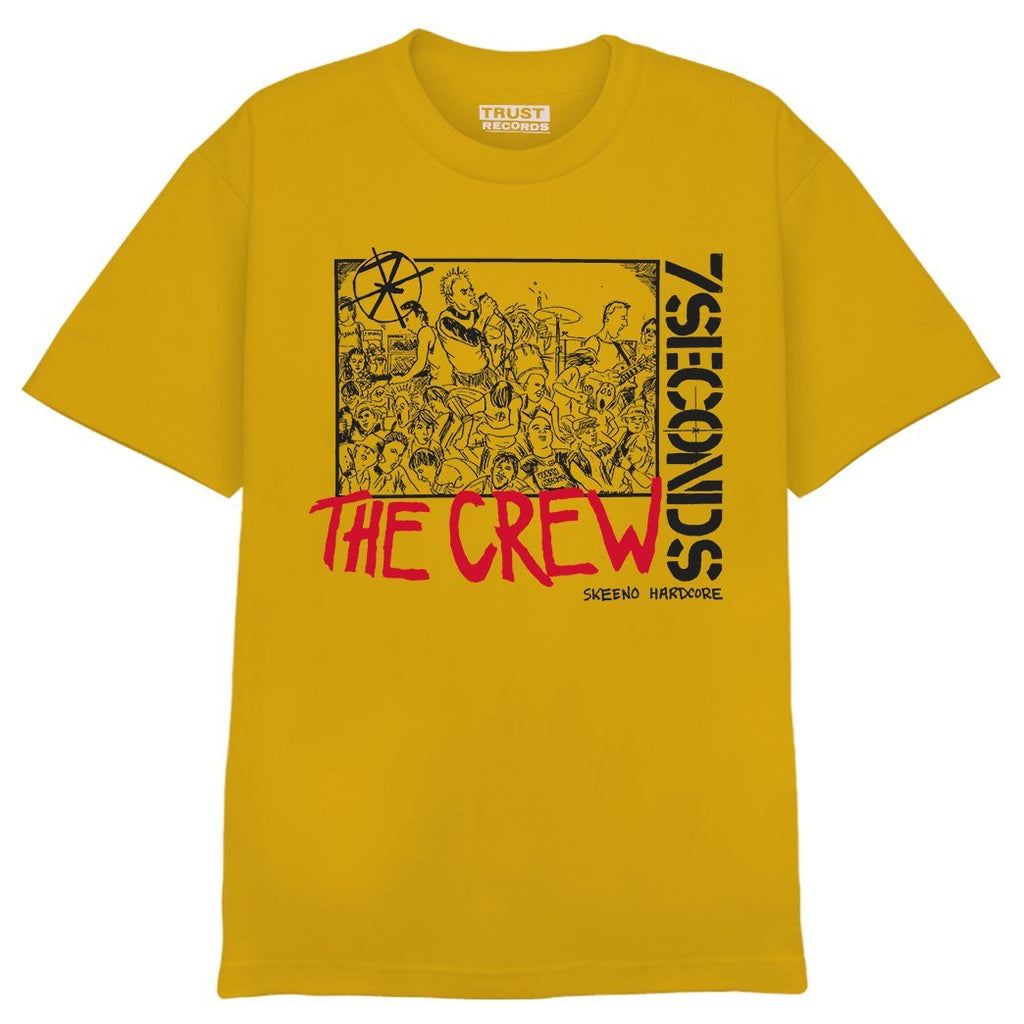 PRE-ORDER: 7 SECONDS 'The Crew' T-Shirt / GOLD