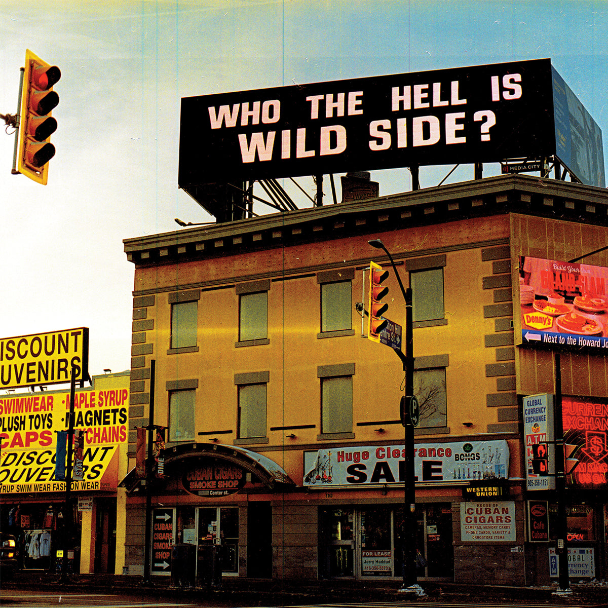 WILD SIDE 'Who The Hell Is WILD SIDE?' LP